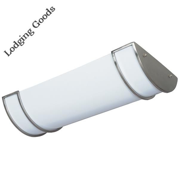 Fluorescent Linear Fixture - Brushe Nickel