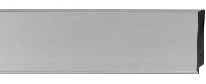 Stainless Silver 2 inch Width Contemporary