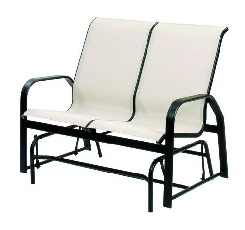 Hi-Back Loveseat Glider