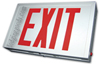 6 Inch Steel Exit Sign