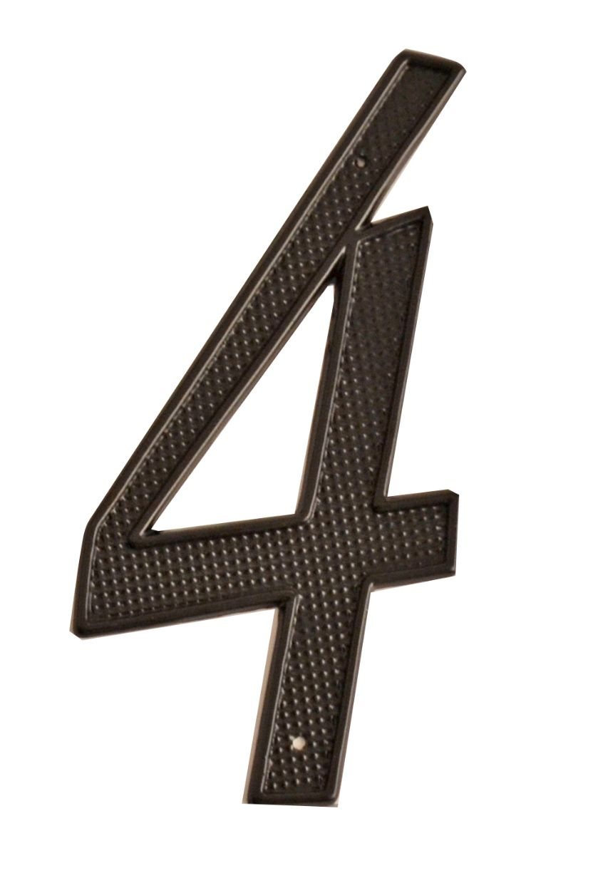 HOUSE NUMBERS, CONTEMPORARY House Numbers — Black-4