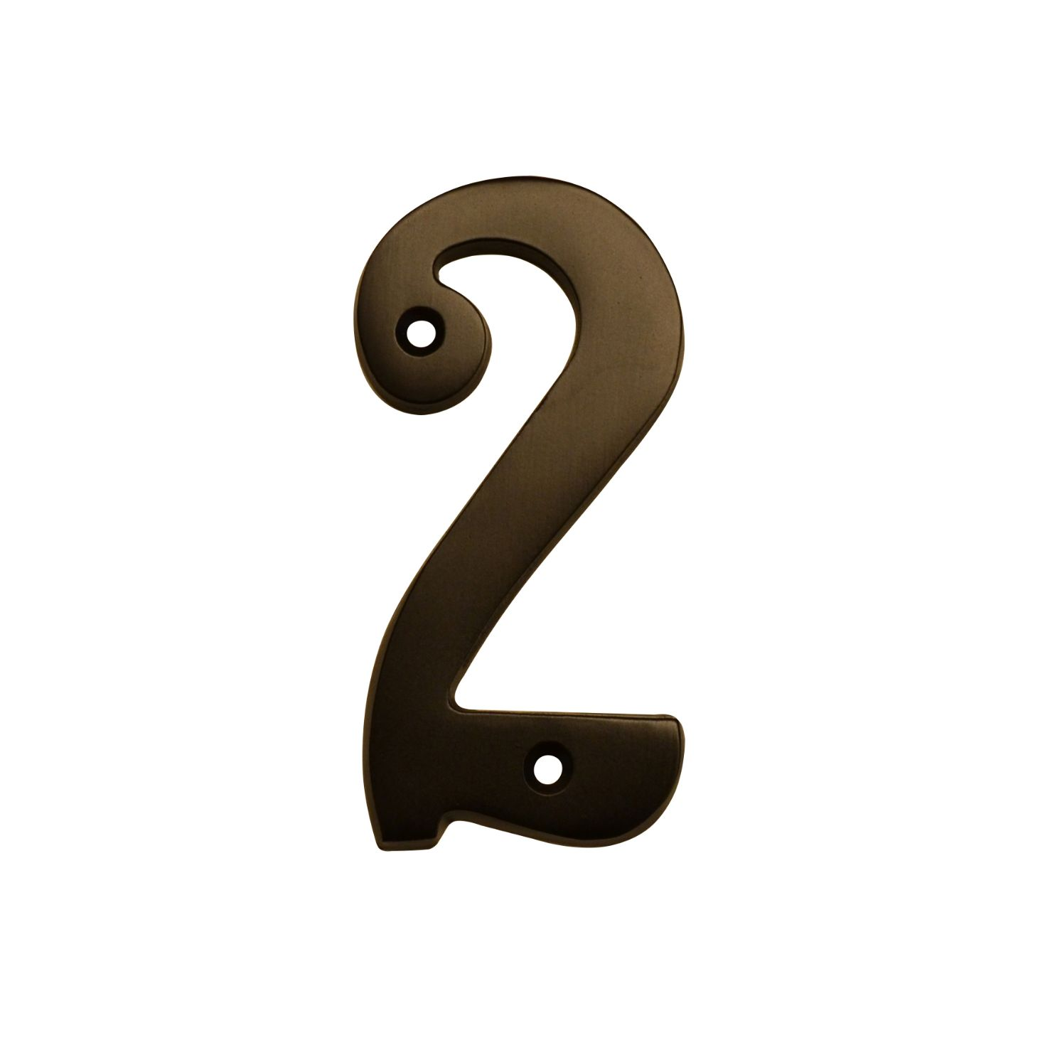 "HOUSE NUMBERS, 4""ELEGANT House Numbers — Oil Rubbed Bronze-2"