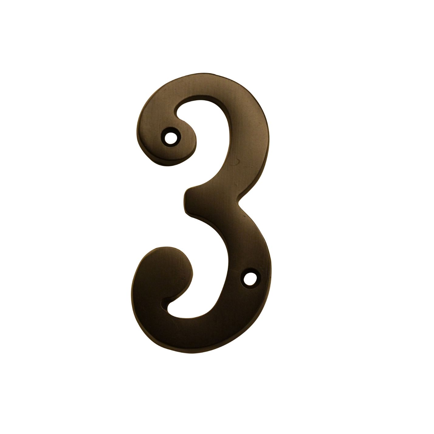 "HOUSE NUMBERS, 4""ELEGANT House Numbers — Oil Rubbed Bronze-3"