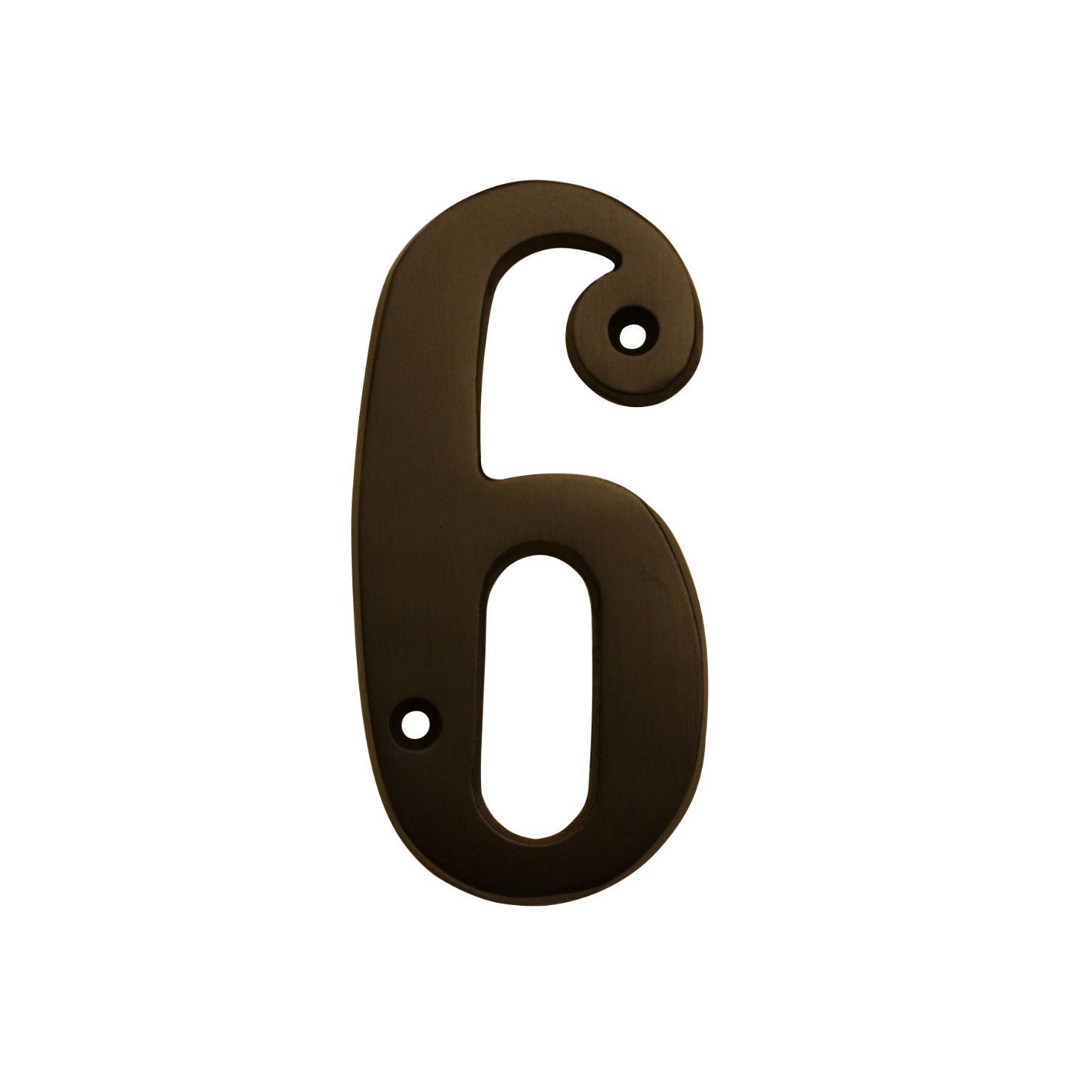 HOUSE NUMBERS, ELEGANT House Numbers — Oil Rubbed Bronze-6