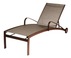 Chaise Lounge with Wheels