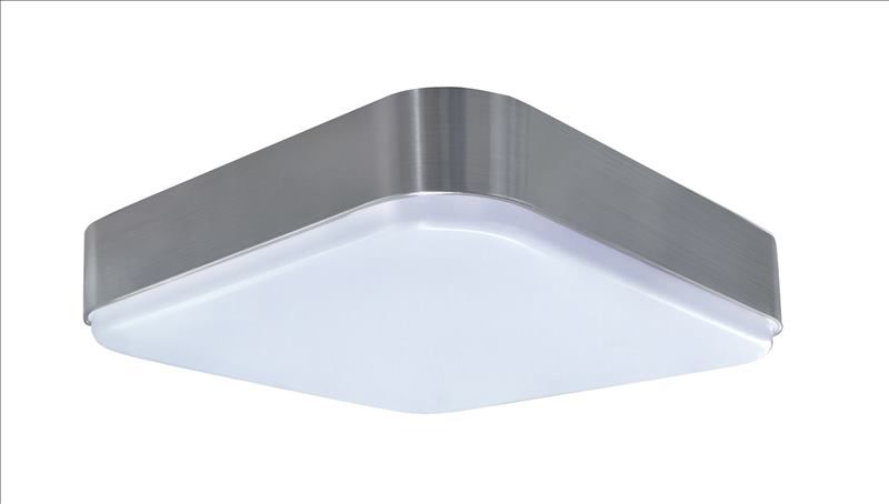 LED 11 inch sqaure ceiling light with BN trim