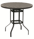 42-in. Round Bar Height Table