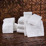 Golden Touch Dobby Border Towels