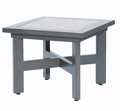 """26"""" x 26"""" Square End Table"""
