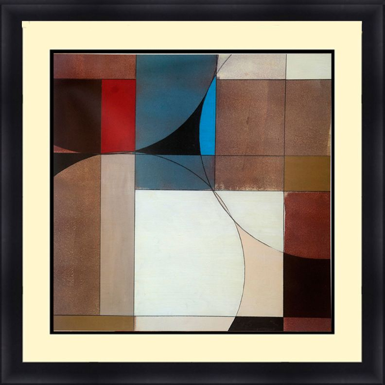 Abstract 30 x 30 Framed Available In Custom Sizes