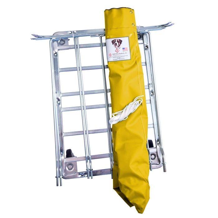 UPS/FEDEX-ABLE ANTIMICROBIAL BASKET TRUCK - 6 BUSHEL