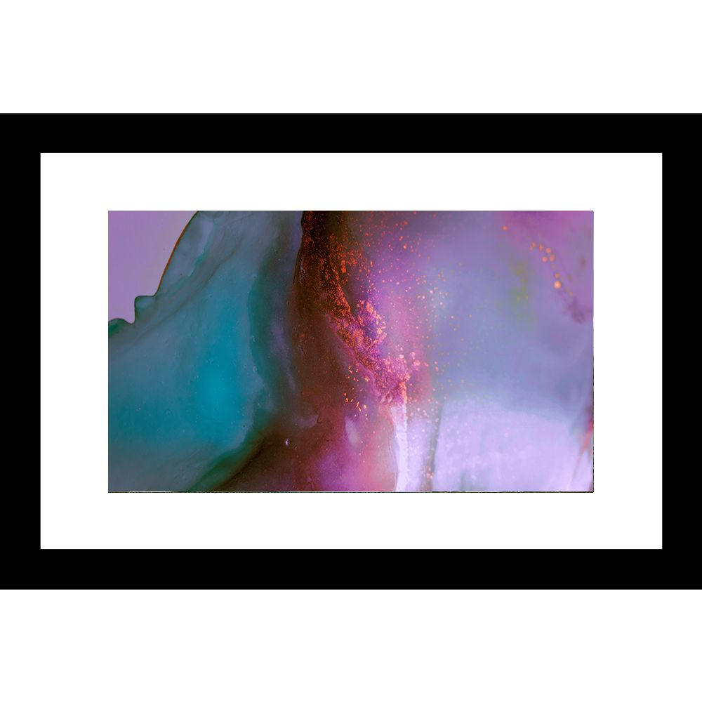 Abstract 24 X 36 Framed Available In Custom Sizes