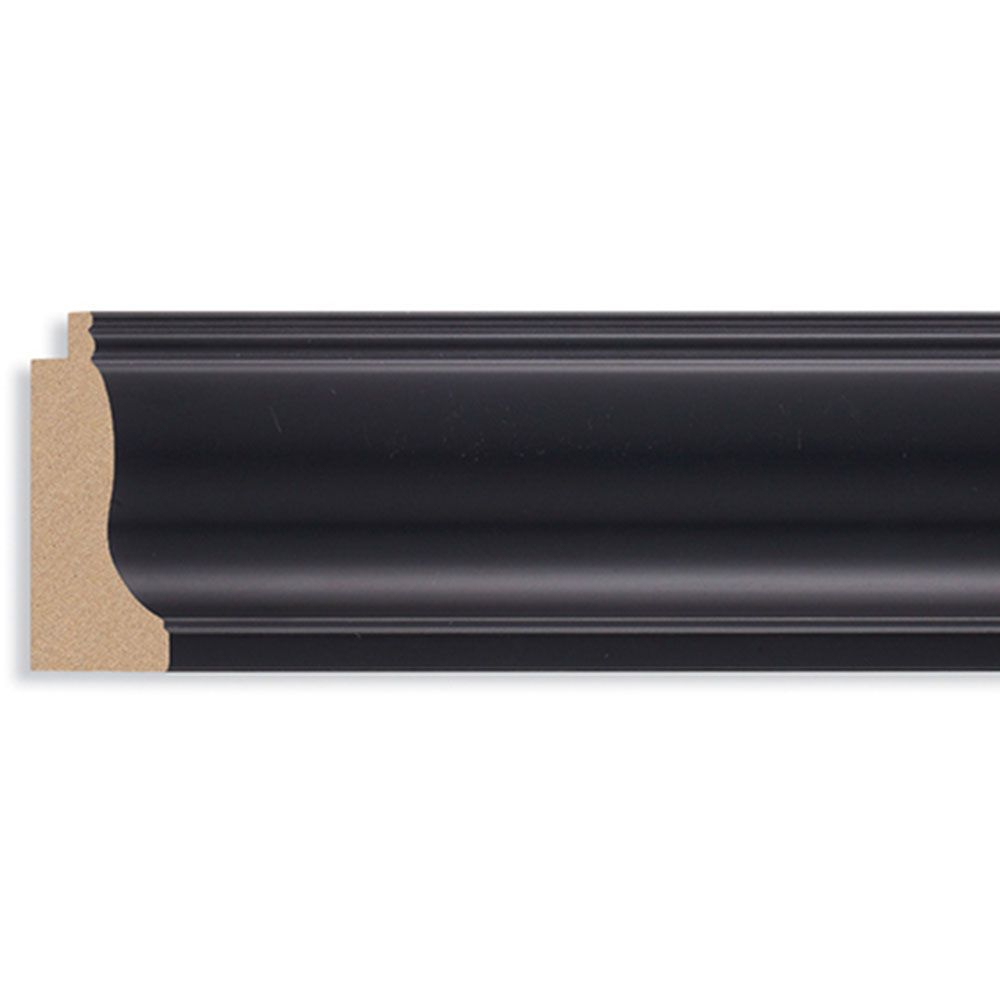 Black 2 3/8 inch Width Contemporary