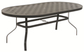 42 X 76 Oval Dining Table