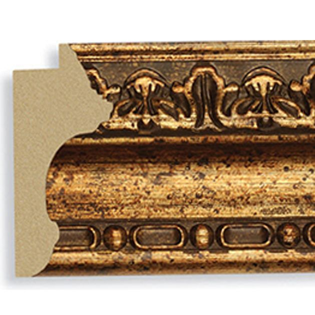 Antique Gold 3 3/8 Width