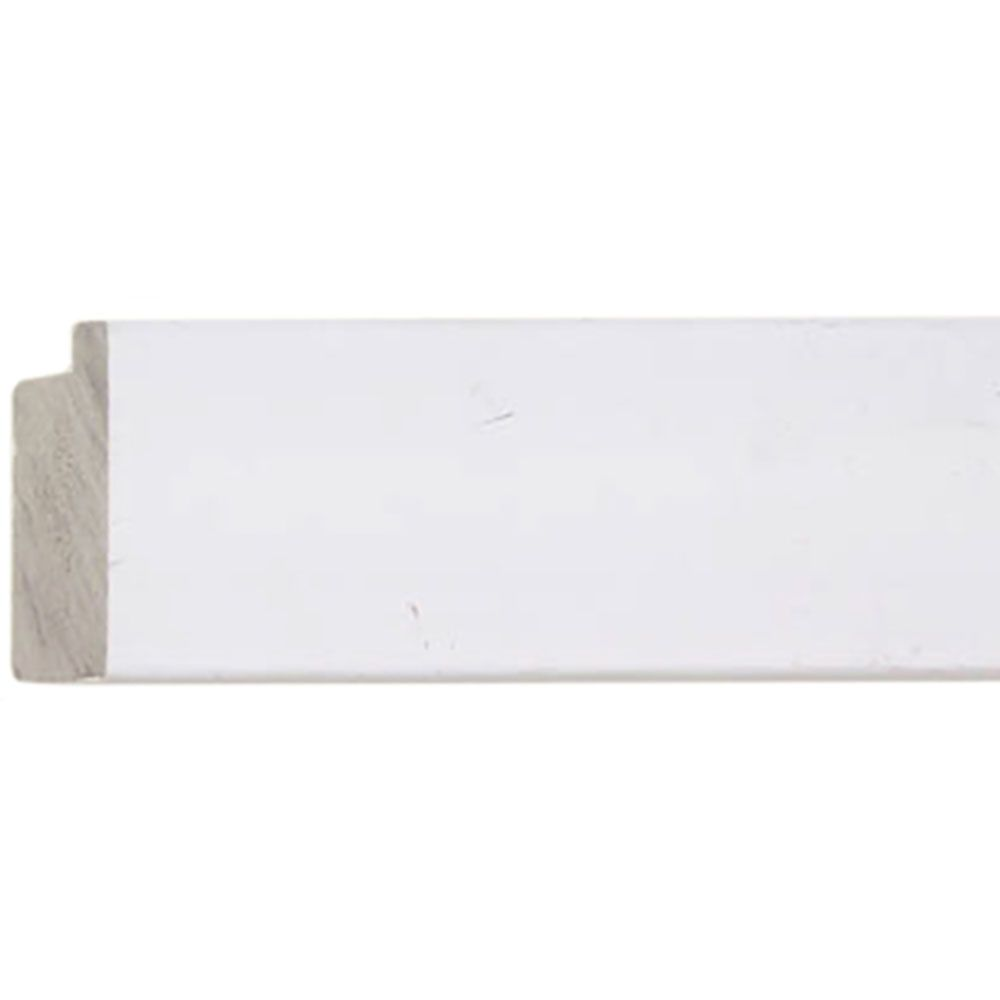 White 2 inch Width Contemporary