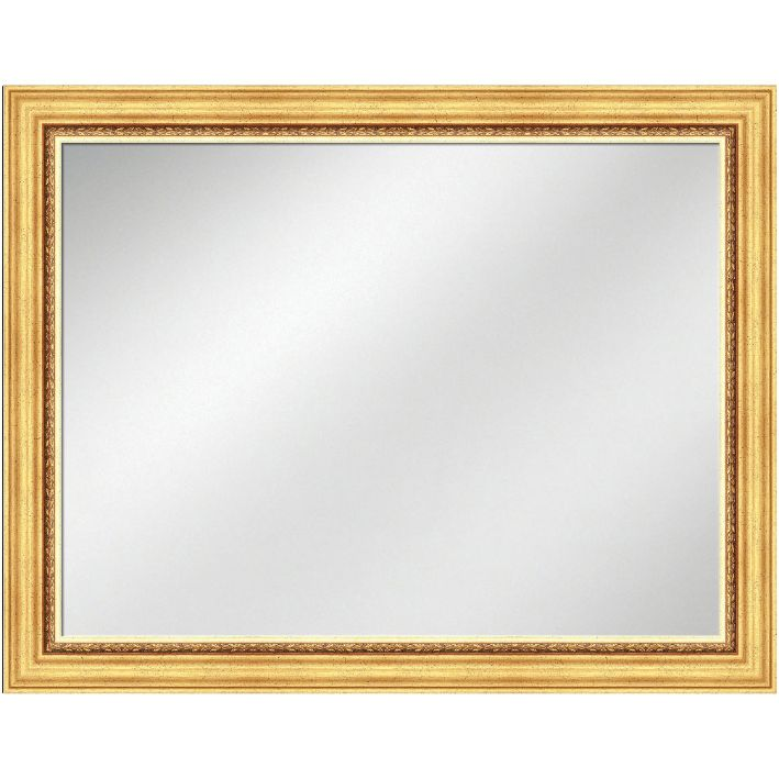 Vanity Mirror Gold 36 x 48