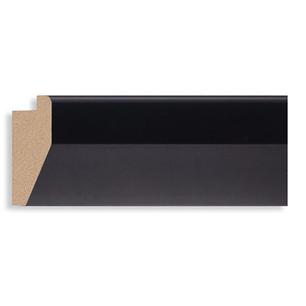 Black 2 1/4 inch Width Contemporary