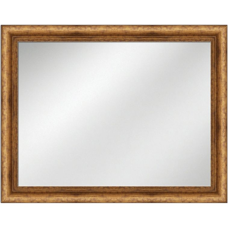 Vanity Mirror Antique Gold Frame 36 x 48