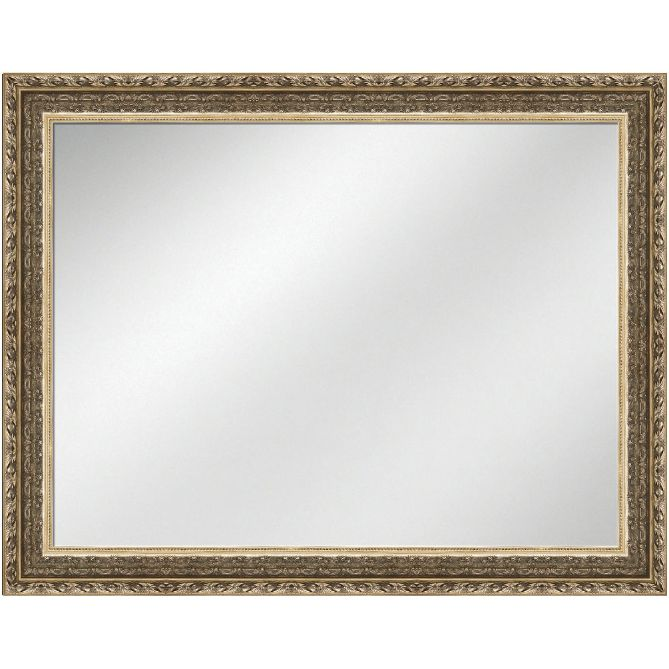 Vanity Mirror Antique Silver 36 x 48