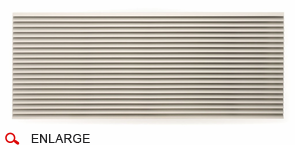 Amana Exterior Architectural Aluminum Grill: Clear Anodized Unpainted AGK01CB
