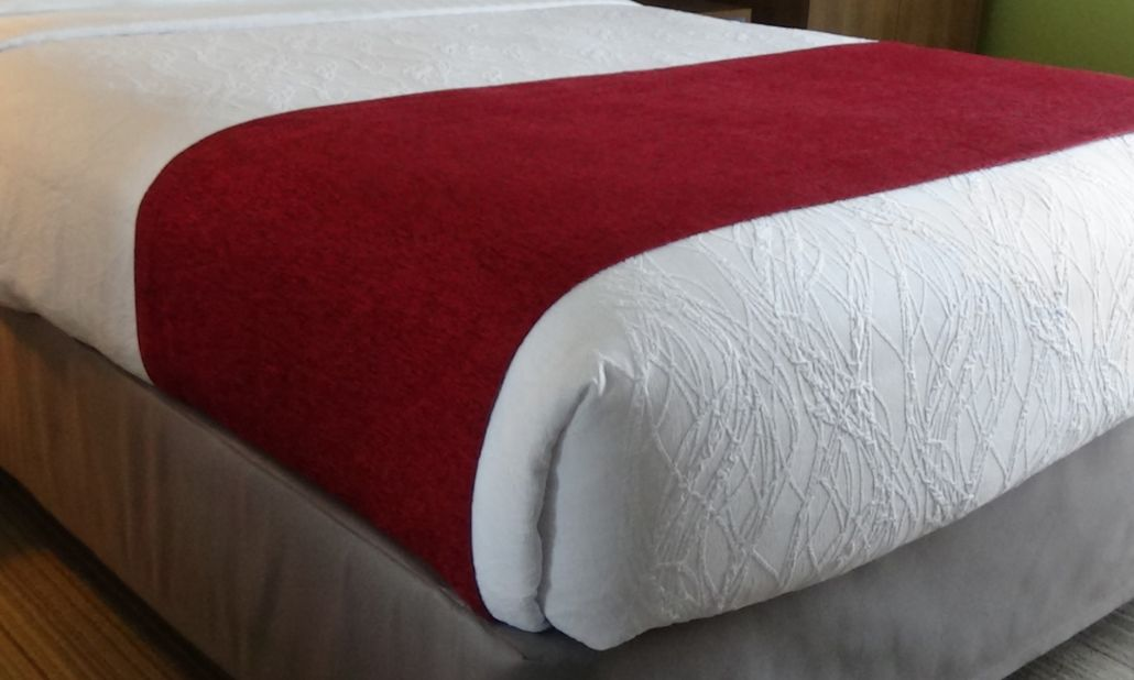 Bed Scarves - Berry
