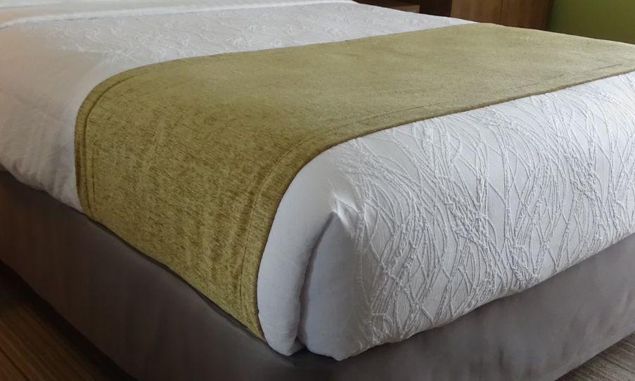 Bed Scarves - Bronze