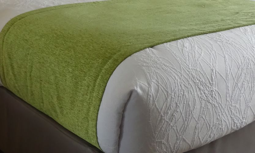 Bed Scarves - Moss