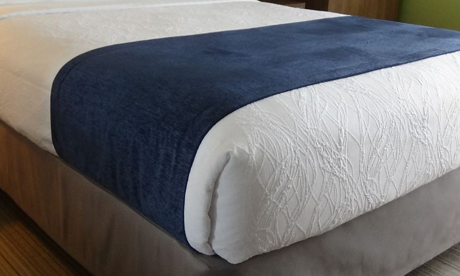 Bed Scarves - Navy