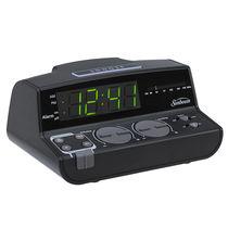Sunbeam Clock Radio, Black  CR 1001-005