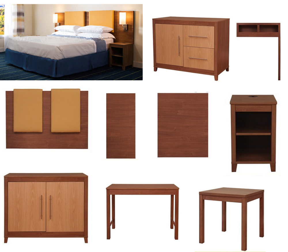 Hotel Furniture Bedroom Set Design