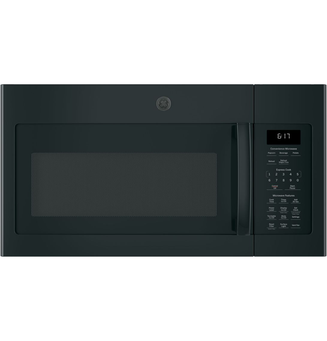 GE 1.6 Cu. Ft. Over-the-Range Microwave Oven with Recirculating Venting