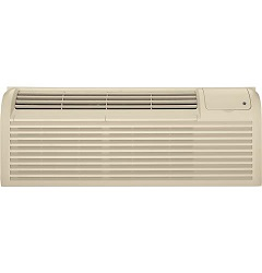 GE ZONELINE DELUXE SERIES COOLING AND ELECTRIC HEAT UNIT WITH CORROSION PROTECTION, 230/208 VOLT AZ41E07DAC