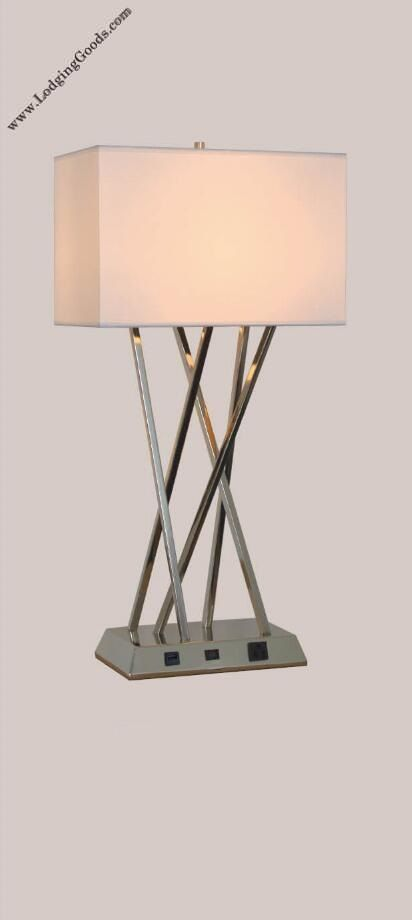 Single Table Lamp with USB Port