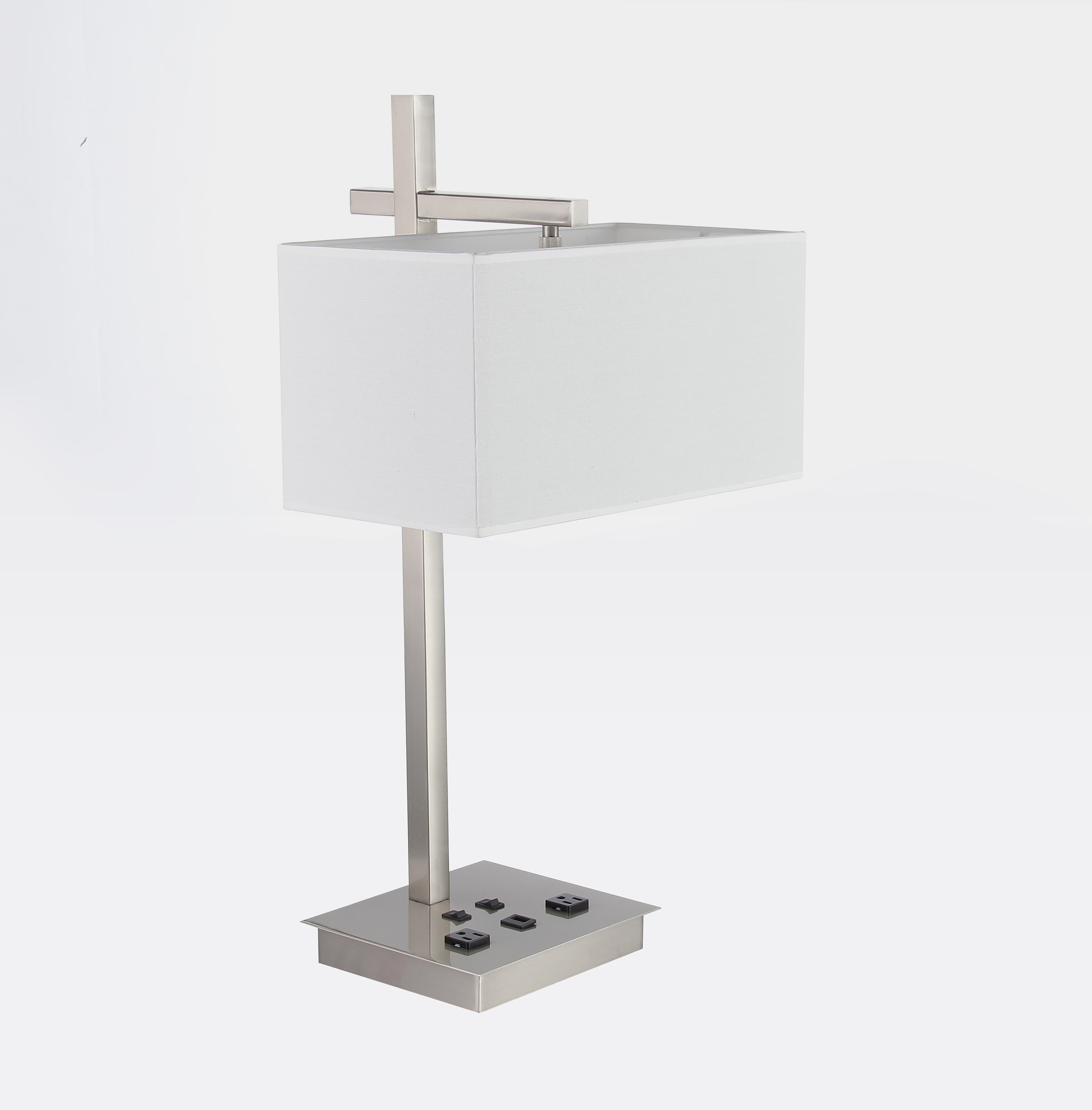 Desk Lamp with 2 Elec/1 USB