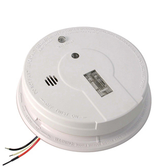 AC Hardwired Interconnect Smoke Alarm with Safety Light i12080