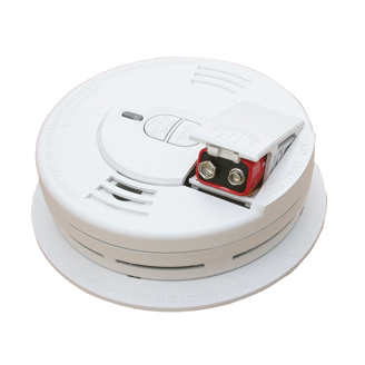 Front-Load Battery Operated Smoke Alarm i9070