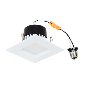 "LED 4"" Recessed Retrofit Kit Square"