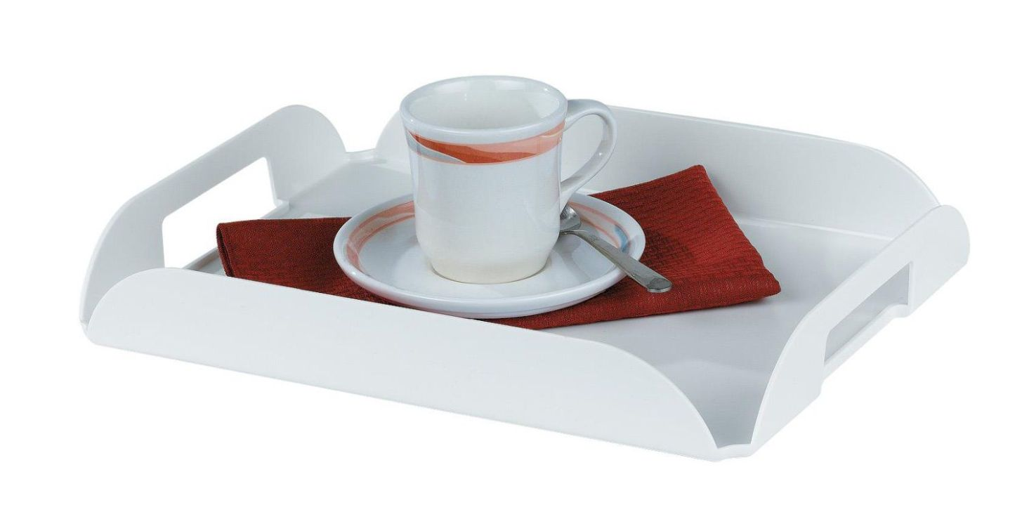 In-Room Coffee Trays, WHITE