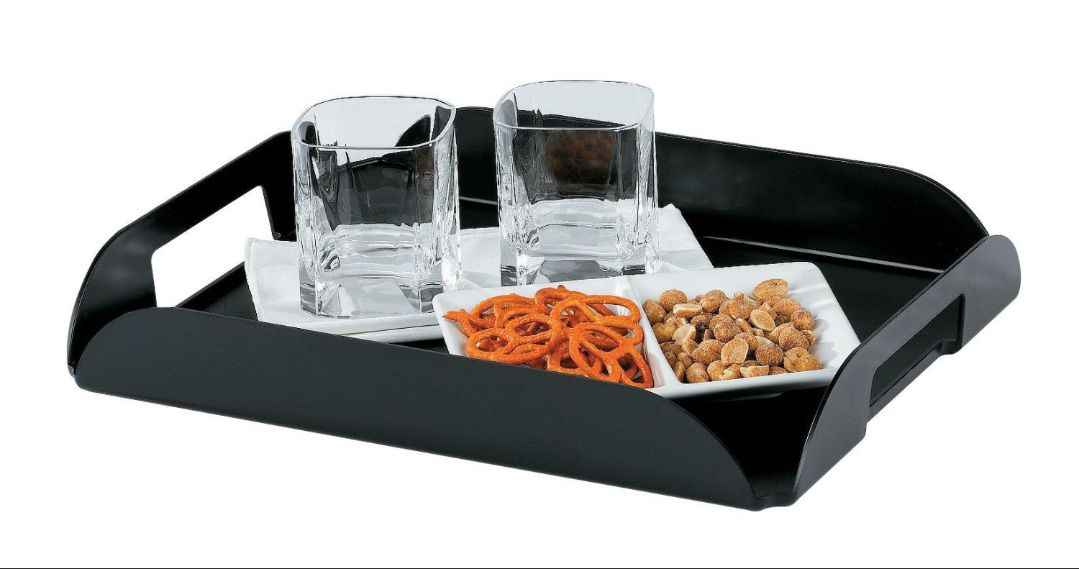 In-Room Coffee Trays, BLACK