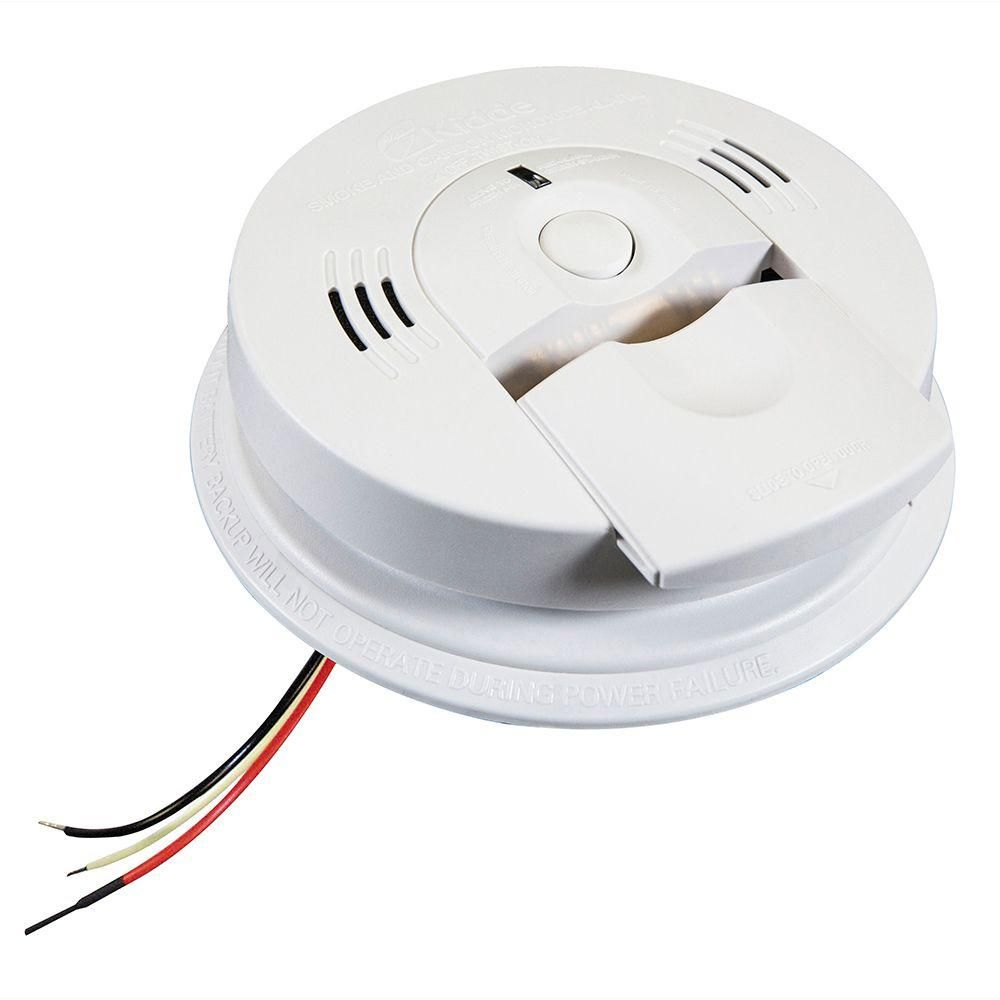 Hardwired Combination Carbon Monoxide & Smoke Alarm KN-COSM-IBA