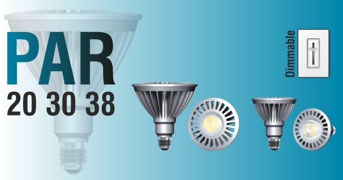13W LED PAR30 Bulb Dimmable 40º / 3000K