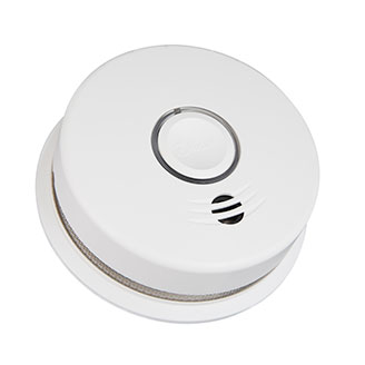 Wire-Free Interconnected Battery Powered Smoke Alarm P4010DCS-W