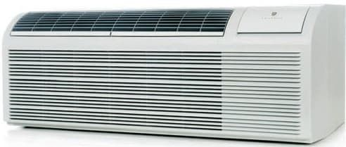 9,400 BTU Packaged Terminal Air Conditioner with Electric Heat, 12.1 EER, 2.1 Pts/Hr Dehumidification, Dual Motors, Room Freeze Protection and 230/208 Volts