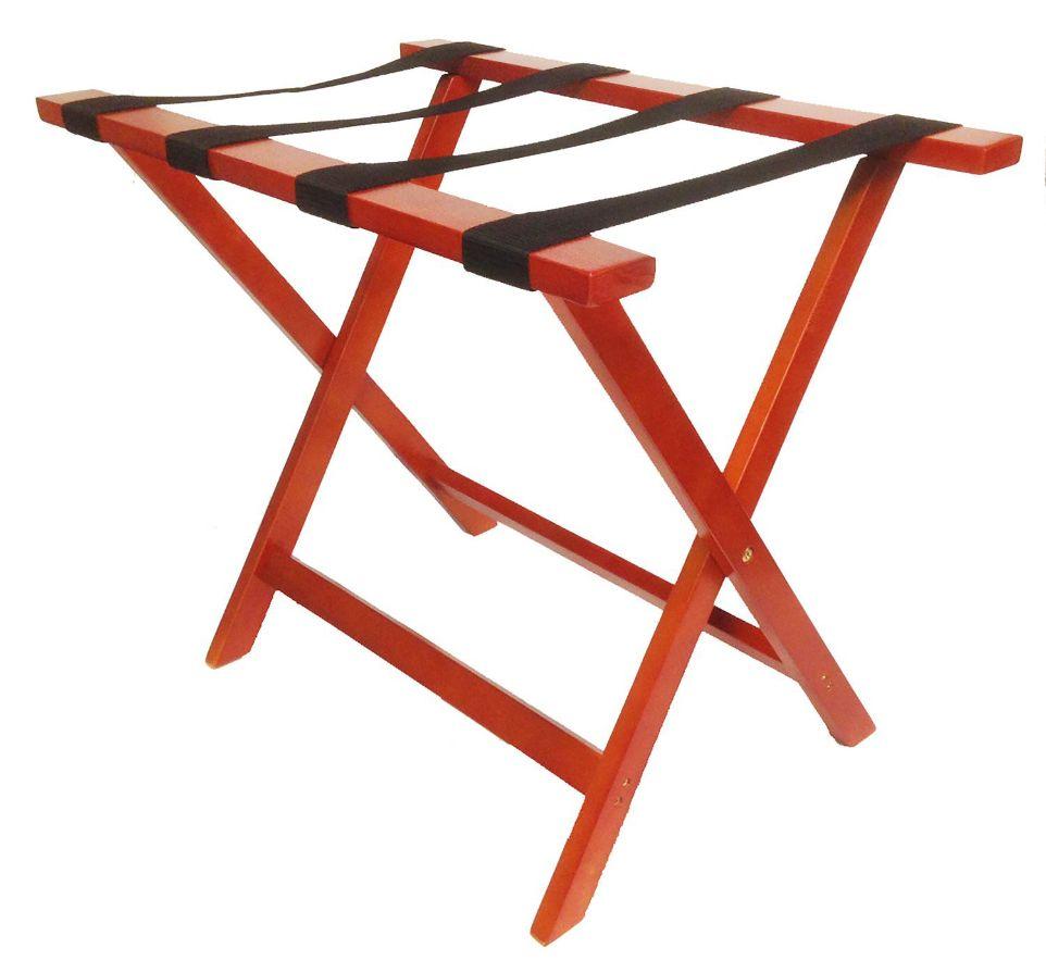 Wooden Luggage Rack, American Cherry Finish, Standard