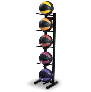 Medicine Ball Set and Rack