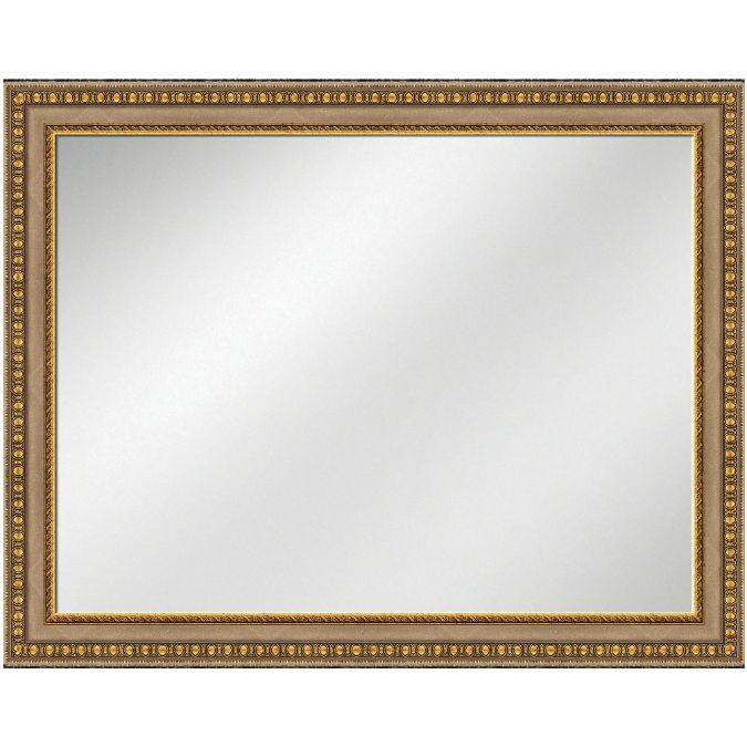 Vanity Mirror Silver w/gold Frame 36 x 48