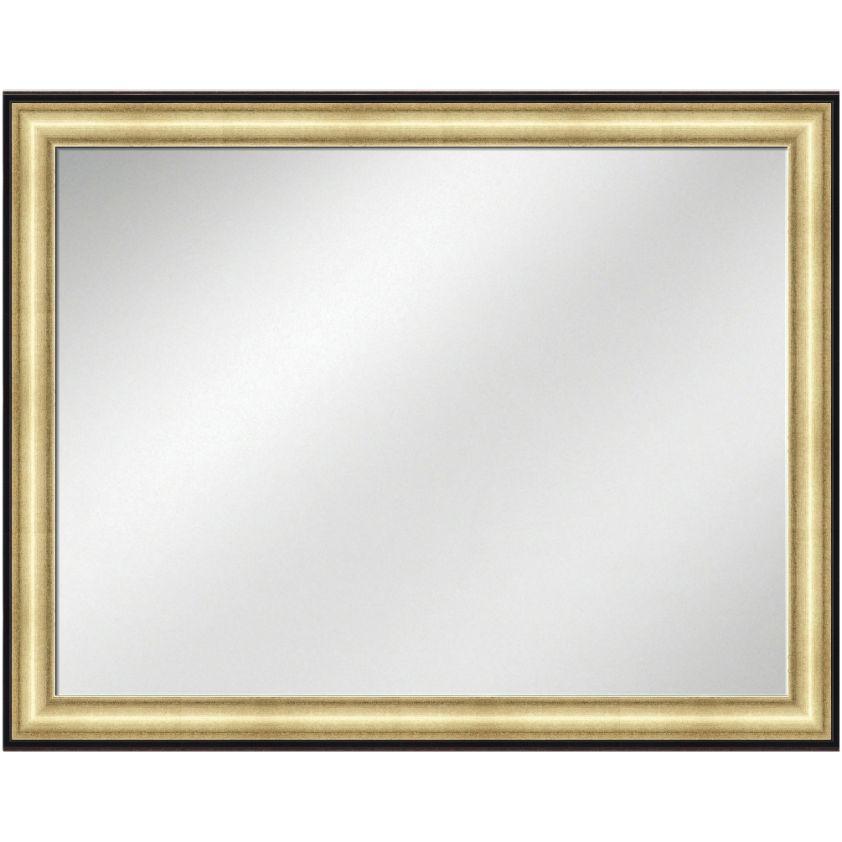 Vanity Mirror Gold w/ Black line Frame 36 x 48
