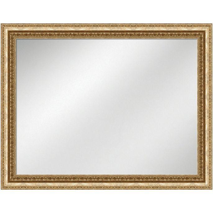 Vanity Mirror Pale Gold Frame 36 x 48