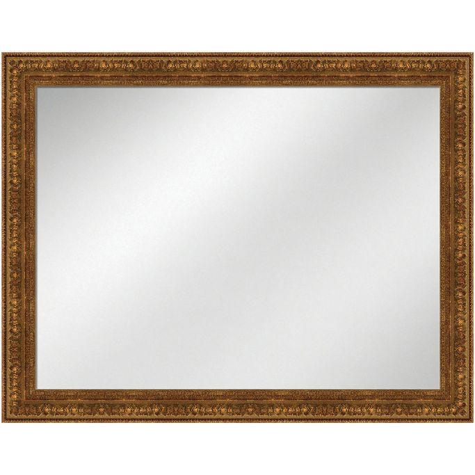 Vanity Mirror Antique Gold 36 x 48